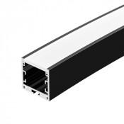 Профиль SL-ARC-3535-D3000-A45 BLACK (1180мм, дуга 1 из 8)
