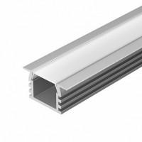 Встраиваемый светодиодный профиль 2000х22х12мм комплект