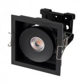 Светильник CL-SIMPLE-S80x80-9W Day4000 (BK, 45 deg)