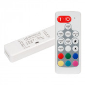 Контроллер ARL-MINI-RGB-3x4A (5-24V, RF ПДУ 18кн)