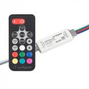 Контроллер ARL-FINE-RGB Black (5-24V, 3x2A, RF ПДУ 18кн)