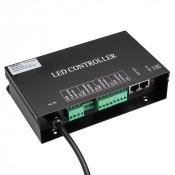 Контроллер HX-SPI-DMX-SL-4P (4096 pix, 220V, TCP/IP, add, ArtNet)