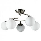 Потолочная люстра Arte Lamp Brooke A2717PL-5SS