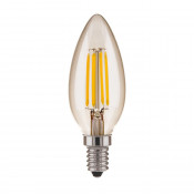Лампа светодиодная филаментная Elektrostandard BLE1409 E14 9W 3300K прозрачная 4690389150678