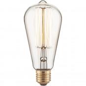 Лампа накаливания Elektrostandard диммируемая E27 60W прозрачная 4690389082153