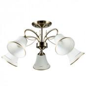 Потолочная люстра Arte Lamp Blossom A2709PL-5AB