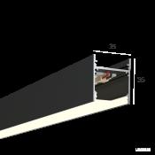 Линейный светильник HOKASU S35 (RAL9005/500mm/LT70 - 4K/10W)