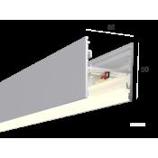 Линейный светильник HOKASU S50 U&D (RAL9003/500mm/LT70 - 4K/13W)