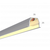 Линейный светильник HOKASU 35/25 IN (Anod/500mm/LT70 - 3K/10W)