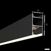 Линейный светильник HOKASU 35/56 (RAL9005/500mm/LT70 - 4K/10W)