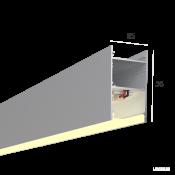 Линейный светильник HOKASU 35/56 (Anod/500mm/LT70 - 3K/10W)