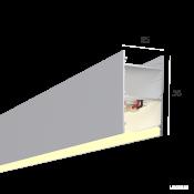 Линейный светильник HOKASU 35/56 (RAL9003/500mm/LT70 - 3K/10W)