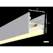 Линейный светильник HOKASU S50 U&D (RAL9003/500mm/LT70 - 3K/13W)