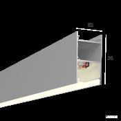 Линейный светильник HOKASU 35/56 (Anod/500mm/LT70 - 4K/10W)