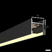 Линейный светильник HOKASU S35 (RAL9005/500mm/LT70 - 3K/10W)
