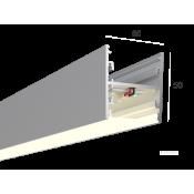 Линейный светильник HOKASU S50 U&D (Anod/500mm/LT70 - 4K/13W)