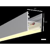 Линейный светильник HOKASU S50 U&D (Anod/500mm/LT70 - 3K/13W)