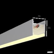 Линейный светильник HOKASU S35 (Anod/500mm/LT70 - 3K/10W)