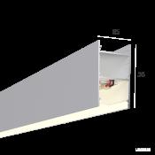 Линейный светильник HOKASU 35/56 (RAL9003/500mm/LT70 - 4K/10W)