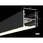 Линейный светильник HOKASU S50 U&D (RAL9005/500mm/LT70 - 4K/13W)